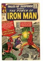 Tales Of Suspense 56 7.0 // 1st Appearance Of The Unicorn 1964