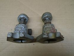 Pair Of Vintage Armstrong Bros Tool Co Chicago Usa No 1 Machinist Screw Vise