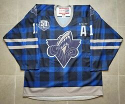 Rimouski Oceanic Alexis Lafreniere Team Issued Authentic Chl Ccm Hockey Jersey