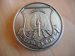 Us Air Force Pewter Coin Medallion Jrotc Jr. Reserve Officers' Training Corps