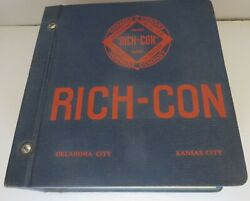 Vintage 1941-44 Richards And Conover Rich-con Hardware Salesman Catalog 2500 Pages