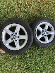 Bmw Oem Wheels And Tires 205/55 R 16 Quantity4 Local Pick Up- Houston Tx