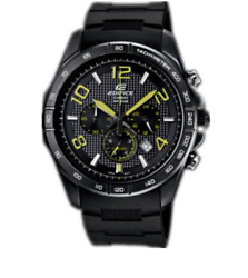 Casio Edifice Men's Black Lable Stainless Steel Watch 3035