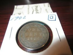 1902 - Canada - One Cent - Canadian Penny