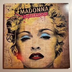 Madonna Celebration Hits Compilation 4 Lp Vinyl Record Rare Copy Ex/ex