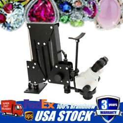Jewelry Micro Inlaid Mirror Multi-directional Continuous Zoom Microscope Stand