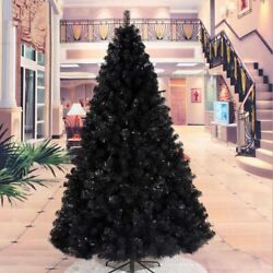 Black Christmas Tree Holiday New Year Ornaments Metal Frame Stand Decoration New