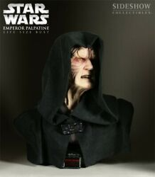 Star Wars 11 Palpatine Sideshow Collectibles Life Size Rare