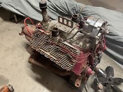 Ford Flathead Complete Engine Running Offenhauser 1938-42 X5