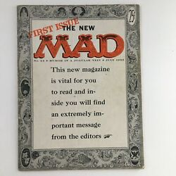 Mad Magazine July 1955 No. 24 The First Issue Fine Fn 6.0