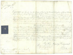 King George Iii Great Britain - Military Appointment Signed 08/24/1802 With Co