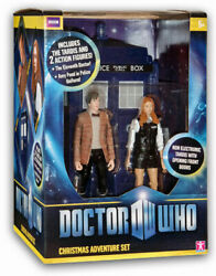 Dr Who Christmas Adventure Action Figure Settardis11th Dr Police Amy Pond New