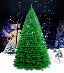 Green Pine Christmas Tree For Holiday Festive Decoration Home Mall Business Used