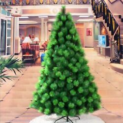 Green Christmas Tree Pine Needles Indoor Holiday Decoration Trees 1.8m Ornaments