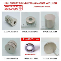 Super Strong Round Rare Earth Search Powerful Neodymium Magnet 50x30 N52 N40 N35