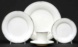 Noritake Fine China Service For 12, 5 Piece Place Settings Sterling Cove 7720