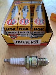 New Nos Ngk Spark Plugs B6eb-l-11 Stock No. 5528 Free Shipping
