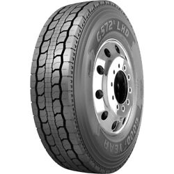 4 New Goodyear G572a Lhd 255/70r22.5 Load H 16 Ply Drive Commercial Tires
