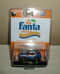 M2 Machines Fanta Orange Chase 1988 Ford Mustang Gta07 New