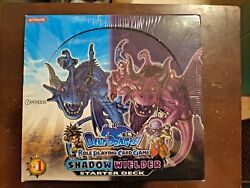 Blue Dragon Role-playing Card Game Light And Dark Shadow Wielder Starter Display
