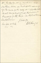 Rutherford B. Hayes - Autograph Letter Signed 04/27/1887