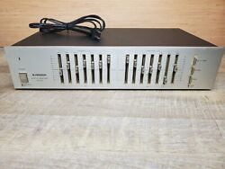 Vintage Pioneer Graphic Equalizer Model Sg-300 Audio Stereo Tested And Working