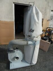 King Of Ufo Ufo-101 Dust Collector System 2 Hp 110/220 Volt 1 Ph Garage Shop