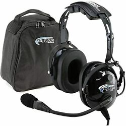 Rugged Air Ra200 General Aviation Headset Features Noise Reduction Ga Du
