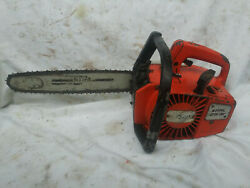 Vintage Stihl 015av, Top Handle Chainsaw, With Bar And Chain