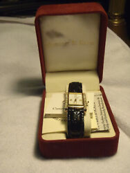 Women's Jacqueline B. Kennedy Collection By Camrose And Kross Dress Watch