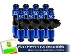 Fuel Injector Clinic 1650cc Fuel Inject Set For Ford F150 04-16 Lightning 99-04