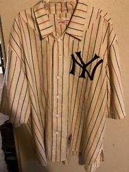 Super Rare 1916 New York Yankees Authentic Mitchell And Ness Jersey Size 2xl