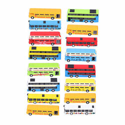 4pcs Alloy Bus Toys Set Early Learning Pull Back Vehicle Model Boys Game Toy Hot