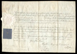 King George Iii Great Britain - Military Appointment Signed 12/14/1809 With Co