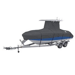 Classic Accessories Stormpro Heavy Duty Center Console T Top Roof Boat Cover New