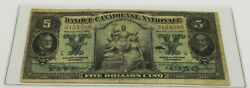 Canada, 1925, 5 Dollars, Banque Canadienne Nationale