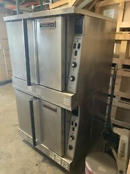 Garland Double Deck Full Size Natural Gas Convection Oven -clean Working Great