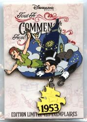 Dlp - Pin Trading Event - It All Started With A Mouse - Peter Pan 1953 Pin