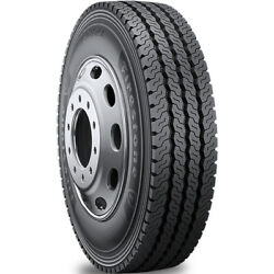 4 Tires Firestone Fs821 11r22.5 Load H 16 Ply All Position Commercial