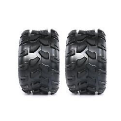 Two 18x9.50-8 Tires Go Kart Atv Tires 18 950 8 Lawn Tractor 18x9.5-8 8 Inch