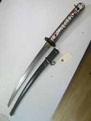 Ww2 Japanese Nco Officers Sword Rare Side Lock Katana With Matching Numbers C3