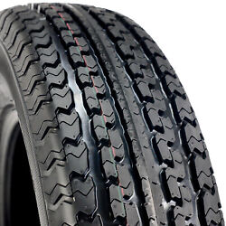 6 Tires Mastertrack Un-203 Steel Belted St 235/85r16 Load F 12 Ply Trailer
