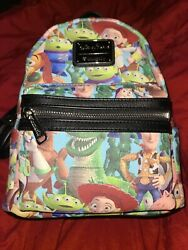 Loungefly Toy Story Disney Parks Mini Backpack