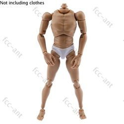ZYTOYS 1 6 Scale Muscle Male Figure Body Wide Shoulder For Phicen Hot Toys TBL $21.99