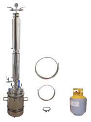 5 Lb Bidirectional Closed Loop Extractor With Solvent Tank - Extractor Solutions
