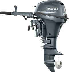 New 8hp Yamaha Outboard 15 Pull Start Tiller F8smhb Flat Rate Shipping 300