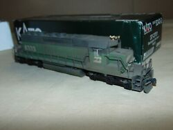 Kato Ho 37-2701 Burlington Northern Sd40-2 W/dcc In Ob---this Has Been Weathered