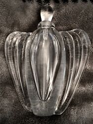 Vitrix Glass—-great Gift—deco Perfume Bottle—by Thomas Buechner—-signed And Dated