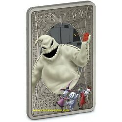 The Nightmare Before Christmas Oogie Boogie 1 Oz Silver Coin Niue 2021