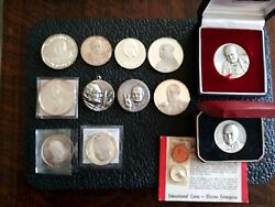 Sir Winston Churchill Silver And Bronze Medals
